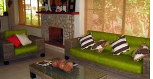 Living area of one of the Vacation Villas at Valle Escondido